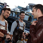 Oyster Kings at Launch Event - V&A Waterfront, Cape Town.