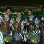 Oyster Kings at the World Economic Forum in the Green Point Stadium.