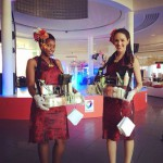 Sushi Queens at the Gold Standard cocktail event, V&A Waterfront, Cape Town.