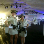 Biltong Queens at the Samsung launch event, V&A Waterfront.