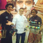 Great meeting Paul from Cake Extreme at the Good Food & Wine Show.
