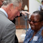 Prince Charles, the Prince of Wales, was introduced to the South African wool industry at a garden party hosted The Mount Nelson Hotel in Cape Town and Oyster King was there!