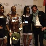 Oyster King at the Peroni Italy event.