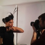 Behind the scenes at our Caviar Queen and Sushi Queen photoshoot at Pixel Foundry - digital photography studio.