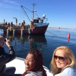 Oyster King Team Training in Saldanha Bay! Product knowledge and understanding are essential for our brand ambassadors.